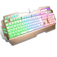 China Anti Ghosting PC Gaming keyboard Aluminum Alloy Panel Waterproof FCC CE ROHS IP wholesale