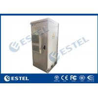 China EMS PDU Outdoor Telecom Cabinet 19'' 40U IP55 Galvanized Steel With Air Conditioner wholesale