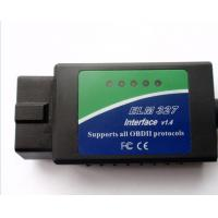 China  English Wireless OBD Diagnostic Scanner ELM327 Bluetooth OBDii CAN BUS Scanner  for sale