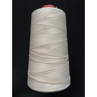 China White Color Fiberglass Insulation Flame Retardant Thread For Sewing 0.2mm Thickness wholesale