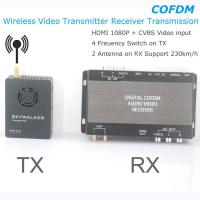 China COFDM Wireless Video Transmitter Receiver Transmission HDMI HD 1080P composite CVBS in H.264 COFDM-904T wholesale