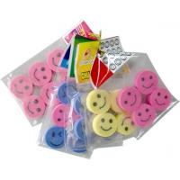 China Polybag packed eraser Series in smile face shape wholesale
