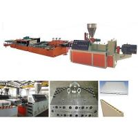 China PLC Control PVC Profile Extrusion Machine / PVC Door Making Machine wholesale