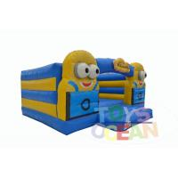 China Toddler Open Minions Jumper Inflatable Bounce House Inflatable Minions Bouncy Castle wholesale