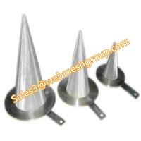Buy cheap wire mesh conical filter from wholesalers