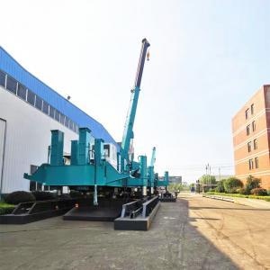 China No Vibration 6.5m/Min Hydraulic Static Pile Driver wholesale