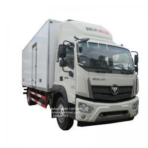 Buy cheap Foton chiller van 8ton 10ton  ice cream trucks freezer fish carry van reefer container price from wholesalers