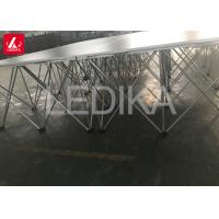China Aluminum Mobile 3'x3' Modular Portable Folding Pop Up Stage for Hotel on sale