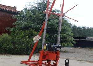 China 30m ST-30 Geotechnical Soil Testing Portable Hydraulic Water Well Drilling Machine wholesale