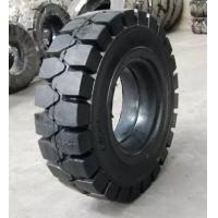 China 10-16.5 Rubber Solid Forklift Tires Lt703 Pattern 10 Ply Rating Maximum Traction wholesale