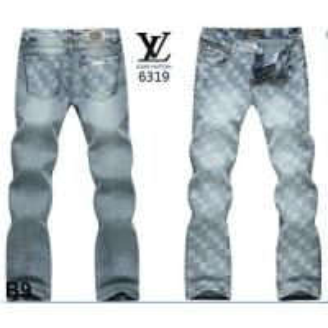 China Newest louis vuitton men jeans 2014 spring design brand jean wholesale
