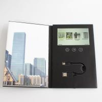 China 7 Inches LCD Video Brochure Card 1 /2 /4 / 8GB Memory For Advertising / Promotions wholesale