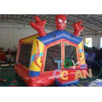 China Customized Huge Spiderman Inflatable Bounce House For Kids Amusement CE wholesale