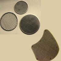 China Filter discs made of stainless steel wire mesh or black iron wire mesh have high tensile strength and resist acid, alkal on sale