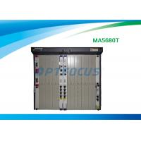Wholesale 10G GPON optical network terminal , Epon OLT Mini Optical Line Terminal Ma5680T from china suppliers