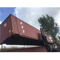 China Steel Dry 2nd Hand Shipping Containers For Road Transport wholesale