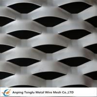 China Expanded Aluminum /Aluminum Expanded Metal Mesh|In Flat and Raised Forms For Curtain Wall on sale