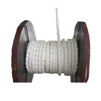 China Soft Hollow Core 3 Strand Poly Rope , UV Stabilized Polysteel Rope wholesale