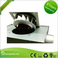 China 125mm Thin Durable Silent Inline Fan / Square Inline Centrifugal Duct Fan wholesale