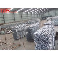 China Steel Spigotted Cuplock Formwork System 100mm For Bridges / Elevated Roads wholesale