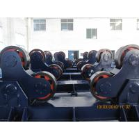 China 150 Tons Heavy Duty Pipe Rollers Siemens VFD Control Linear Speed 1000 mm/min  Wheel Motorized Moving wholesale