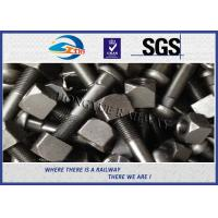 Buy cheap Zinc / HDG Diamond Neck Railway Bolt Rail Track Fish Bolt ASTMA / ASCE from wholesalers