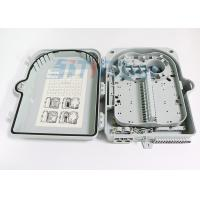 China 24 Port Outdoor Wall Mounted Fiber Optic Distribution Box With Extend Capacity wholesale