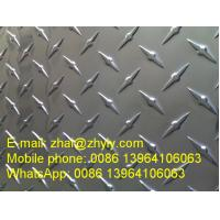China E3 E5 Bright One Bar Pattern Aluminum Panel / Aluminum Tread Plate For Automotive wholesale