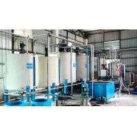 China Horizontal Continuous Low Pressure Foam Machine For Soft Urethane Foam Rubber wholesale