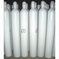 China Seamless Steel CO Gas Cylinder with 150bar/15mPa Working Pressure, for Fish Fresh wholesale
