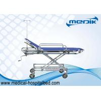 China Easy Moving Patient Transfer Trolley For Ambulance Aluminum Alloy Structure wholesale