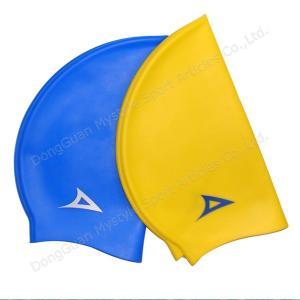 China custom swim cap no minimum funny swimming cap on sale