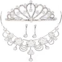 Buy cheap Imperial Crown Jewelry Necklace Bride Wedding Accessories for Decoration from wholesalers
