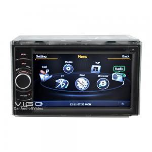 China 6.2''Universal 2 Din Car Stereo Sat Nav GPS Navigation DVD Player Headunit C802 on sale