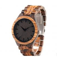 China Directly watch manufacture watch case wood custom logo natural wooden watch on sale