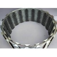 China Poland 900mm coil Thermal BTO-22 Concertina Razor Barbed Wire wholesale