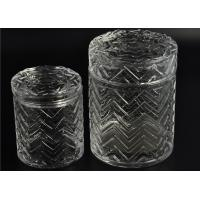 China Modern Tall Glass Candle Holder Glassware Large Capacity 69ml wholesale