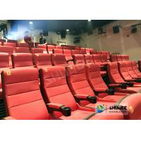 China Safety 4D Movie Theater Equipment With Special Effect And Soft Sliver Screen wholesale