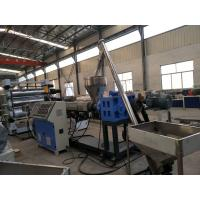 Quality Fully Automatic WPC Foam Board Machine , WPC PVC Cabinet Furniture Foam Board Production Line for sale