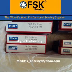 China Brass Cage China SKF Bearings 7322 BECBM Angular Contact Ball Bearings wholesale