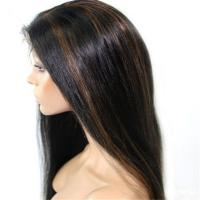 Factory Price large Stocks Blonde Brazilian Hair Full Lace Wig