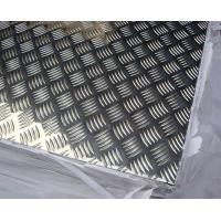 China Anti -  Pollutant Diamond Tread Aluminum Sheet , Aluminium Chequer Plate Sheet  wholesale