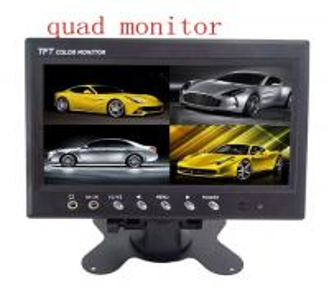 China Heavy Duty TFT Digital Rear View Car Lcd Monitor PAL / NTSC For Truck wholesale