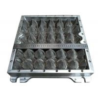 China Plastic 30 Cavities Egg Tray Dies Paper Egg Box Aluminum Moulds with CNC wholesale