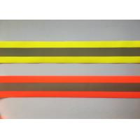 China 100% Polyester High Visibility Silver reflective tapes for Safety Vests / clothing wholesale