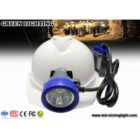 China Mining emergency Mining Cap Lights , mining helmet light with 1*18650 6.6Ah li-ion battery wholesale