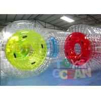 China Clear Human Inflatable Bumper Bubble Ball / Full Body Bumper Balls For Kids wholesale