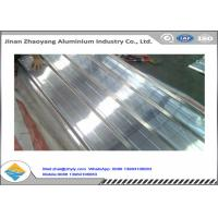 Construction Corrugated Aluminum Sheet , Customized Aluminum Corrugated Panels