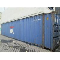 China Dry Used 40ft Shipping Container For Cargo Overseas Transport wholesale