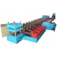 China 13 Units Roll Forming Stations Guardrail Cold Rolling Forming Machine For Road Crash Barrier wholesale